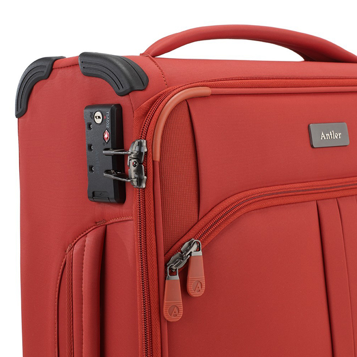 Antler Aire C1 Cabin Suitcase - Red - 08